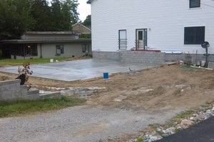 Photo #3: Foundation and floors by licensed masonry and concrete contractor
