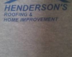 Photo #1: Hendersons Roofing - gutter cleanings only $85
