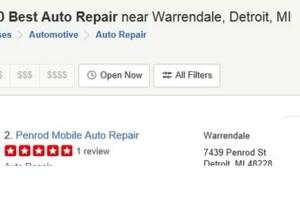Photo #8: Penrod Auto Repair. Diagnostic Time 50.00 HR