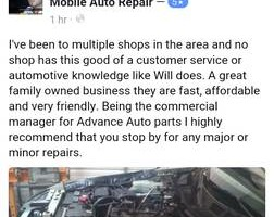 Photo #7: Penrod Auto Repair. Diagnostic Time 50.00 HR