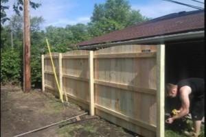 Photo #5: Built rite fence & decks