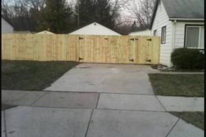 Photo #1: Built rite fence & decks
