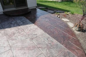 Photo #4: Resurfacing Concrete. Add new color!