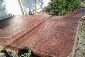 Photo #8: Resurfacing Concrete. Add new color!
