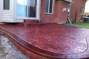 Photo #12: Resurfacing Concrete. Add new color!