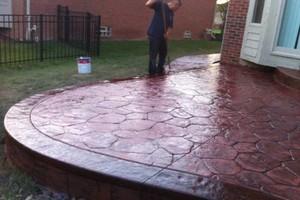 Photo #13: Resurfacing Concrete. Add new color!