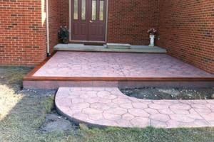 Photo #14: Resurfacing Concrete. Add new color!