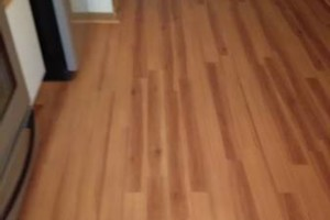 Photo #18: VCT tile and vinyl wood plank installation