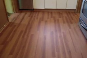 Photo #17: VCT tile and vinyl wood plank installation