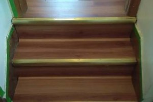 Photo #16: VCT tile and vinyl wood plank installation