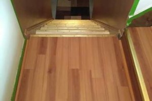 Photo #15: VCT tile and vinyl wood plank installation