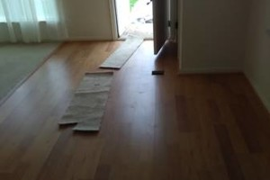 Photo #14: VCT tile and vinyl wood plank installation