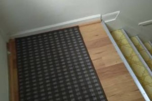 Photo #13: VCT tile and vinyl wood plank installation