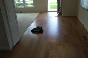 Photo #12: VCT tile and vinyl wood plank installation