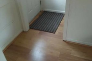 Photo #11: VCT tile and vinyl wood plank installation