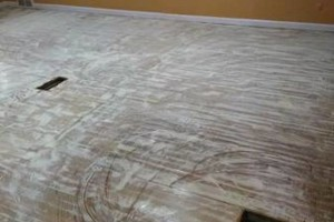 Photo #8: VCT tile and vinyl wood plank installation