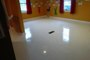 Photo #7: VCT tile and vinyl wood plank installation