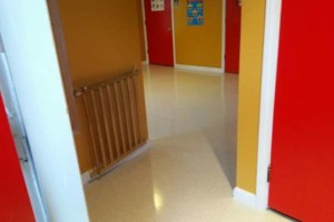Photo #6: VCT tile and vinyl wood plank installation