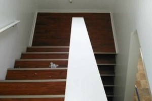Photo #3: VCT tile and vinyl wood plank installation