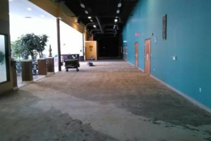 Photo #2: VCT tile and vinyl wood plank installation