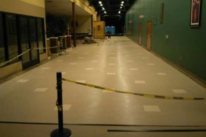 Photo #1: VCT tile and vinyl wood plank installation