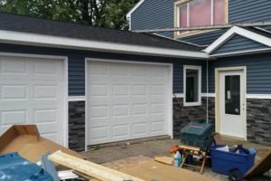 Photo #2: Siding, Drywall and Custom Interior Work