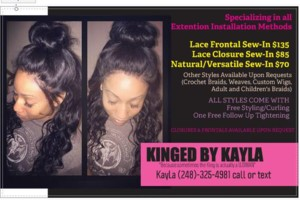Photo #5: LACE FRONTAL SEW INS...LACE CLOSURE SEW-INS