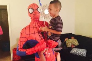 Photo #1: Call YOUTH OVER EVERYTHING LLC! Spiderman $25/hour!