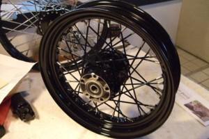 Photo #6: Motorcycle Wheel Service - Spoke Wheel Lacing, Tire Service