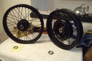 Photo #4: Motorcycle Wheel Service - Spoke Wheel Lacing, Tire Service