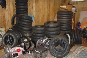 Photo #2: Motorcycle Wheel Service - Spoke Wheel Lacing, Tire Service