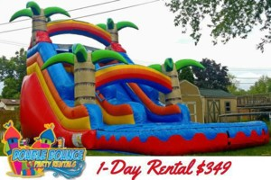 Photo #5: Double Bounce Party Rentals LL. ˜…Bounce House, Water Slide...