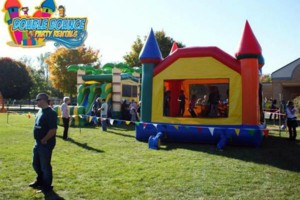 Photo #1: Double Bounce Party Rentals LL. ˜…Bounce House, Water Slide...