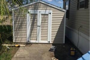 Photo #5: Custom fences, decks, sheds by Tony at T&R
