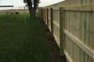 Photo #4: Custom fences, decks, sheds by Tony at T&R