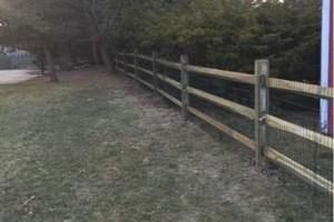 Photo #3: Custom fences, decks, sheds by Tony at T&R