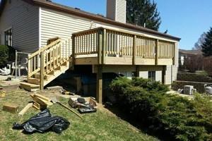 Photo #2: Custom fences, decks, sheds by Tony at T&R