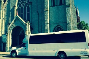 Photo #1: MOTOR CITY PARTY BUS. WEDDING PACKAGES - $595 FOR 4 HOURS!