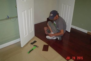 Photo #1: Terry's Flooring. CARPET & FLOORING INSTALLS