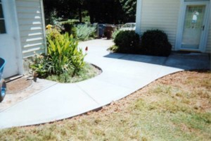 Photo #7: TEAGUES CONCRETE - SIDEWALKS, DRIVEWAYS, PATIOS, SLABS ETC...