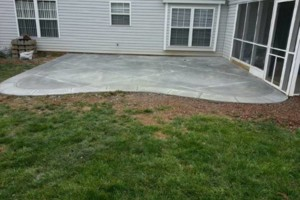 Photo #2: TEAGUES CONCRETE - SIDEWALKS, DRIVEWAYS, PATIOS, SLABS ETC...