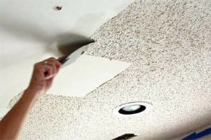 Photo #1: Drywall/ Popcorn /Ceiling/ Texture Removal