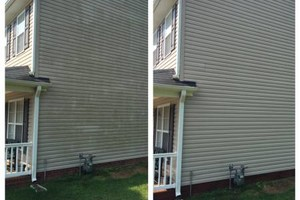 Photo #4: PRESSURE WASHING/GUTTER CLEAN OUT/WINDOW CLEANING