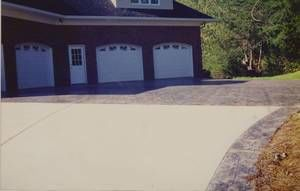 Photo #20: DECORATIVE STAMPED & BROOM FINISHED CONCRETE SERVICE