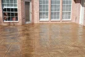 Photo #15: DECORATIVE STAMPED & BROOM FINISHED CONCRETE SERVICE
