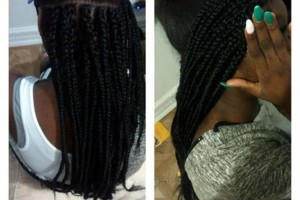Photo #1: Braids $100/sewins $75 Appointments available