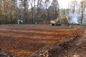 Photo #7: Grading and clearing