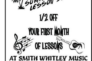 Photo #1: Smith Whitley Music. The Areas Best Music Lessons!!!