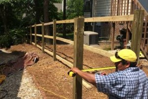 Photo #2: Martinez Professional Fence and Playground installation