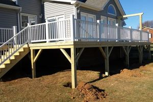 Photo #5: We build decks! R&R Conctruction